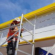 Installing Lightbox to the front of a fascia