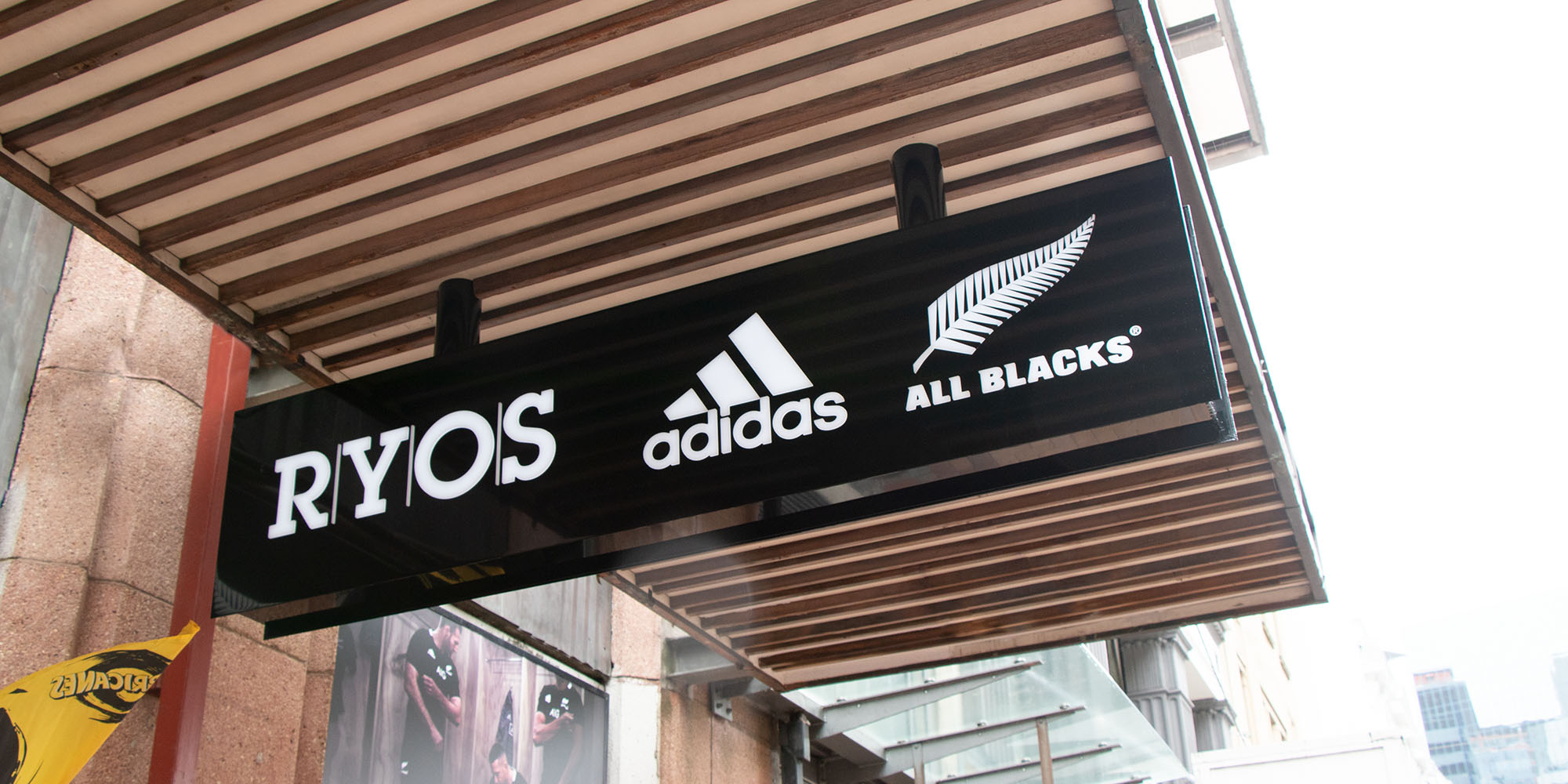 Adidas LED Lightbox with 3D Letters